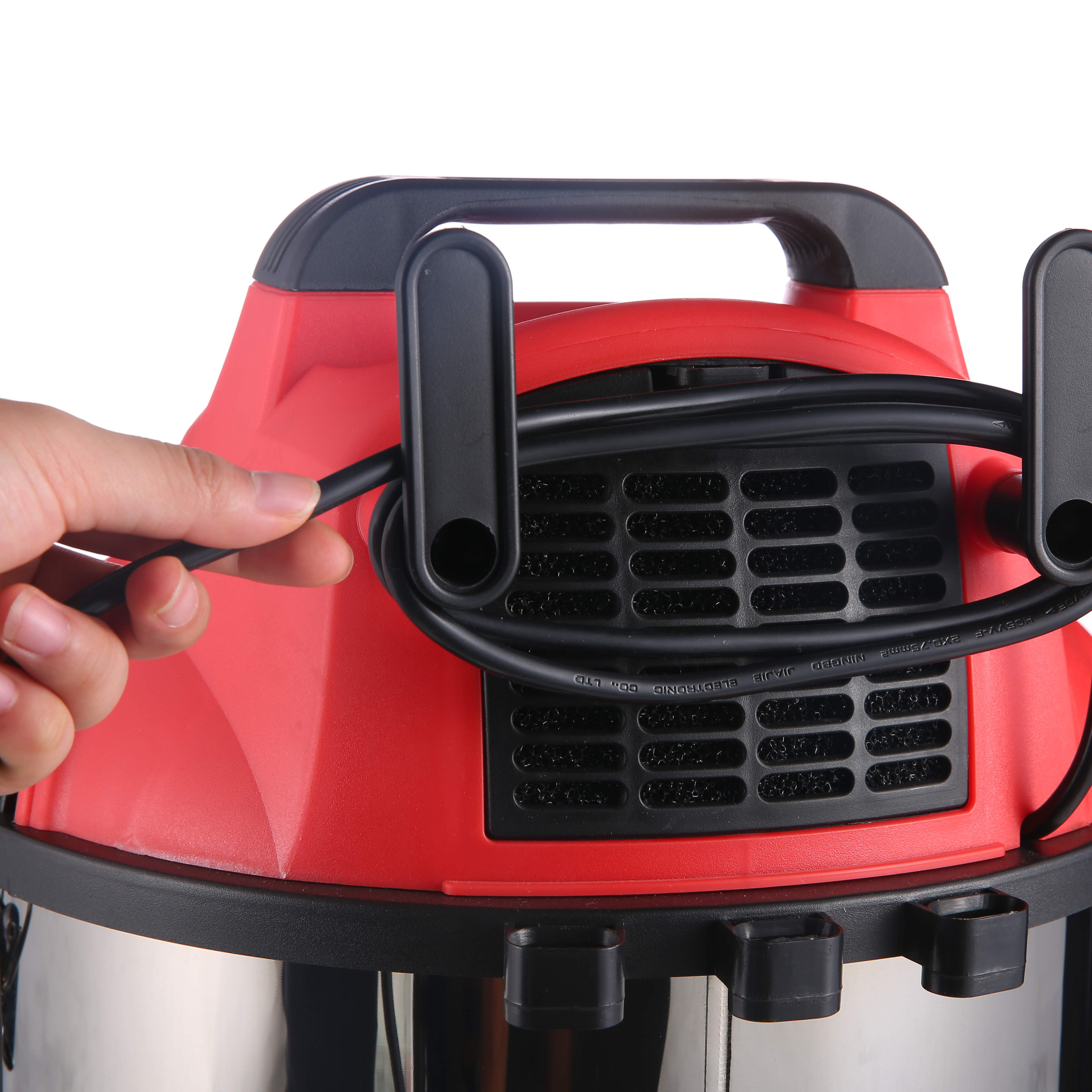 RL128 stainless steel cloth filter vacuum cleaner